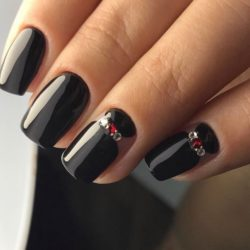 Ideas of plain nails photo