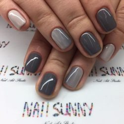Transition nails photo