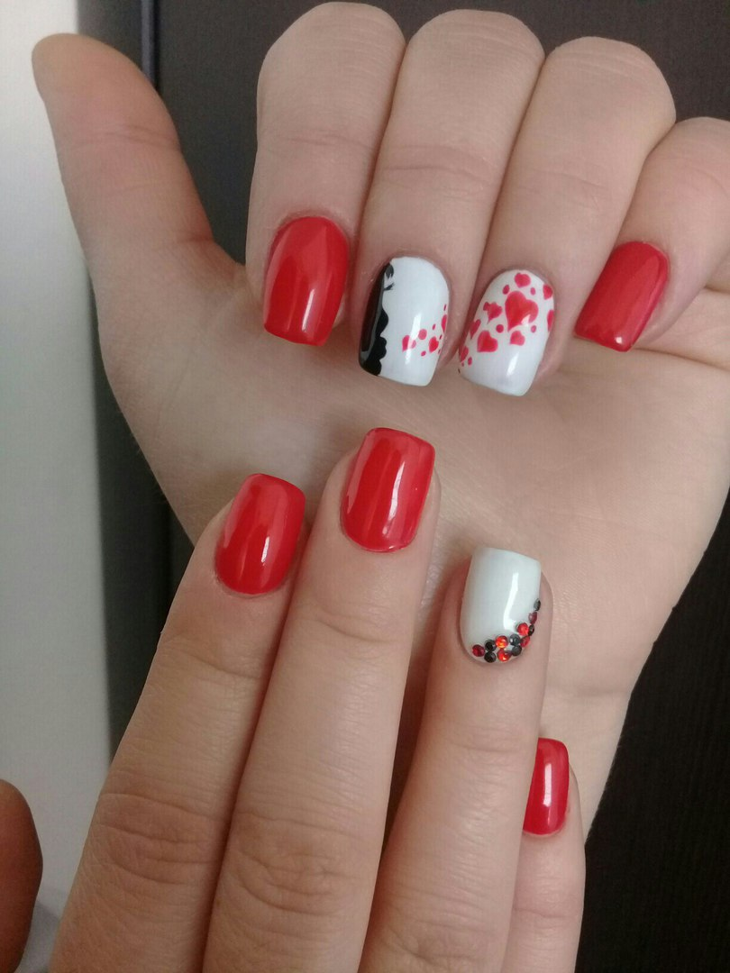 Red nails ideas