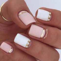 Tan nails photo