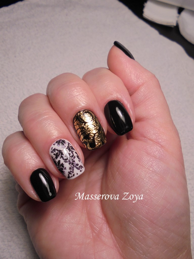 Dark nails - The Best Images | BestArtNails.com
