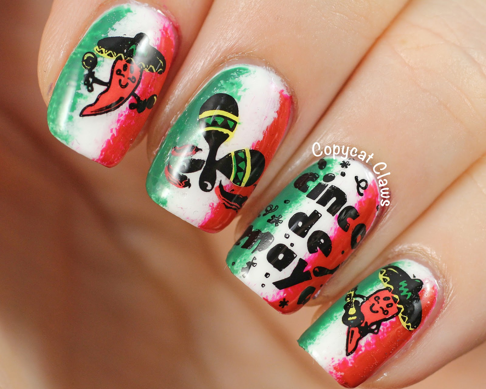 Mexican Nails The Best Images Bestartnails