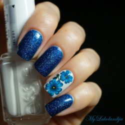 Ideas of dark nails photo