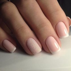 Short nails french manicure ideas , The Best Images