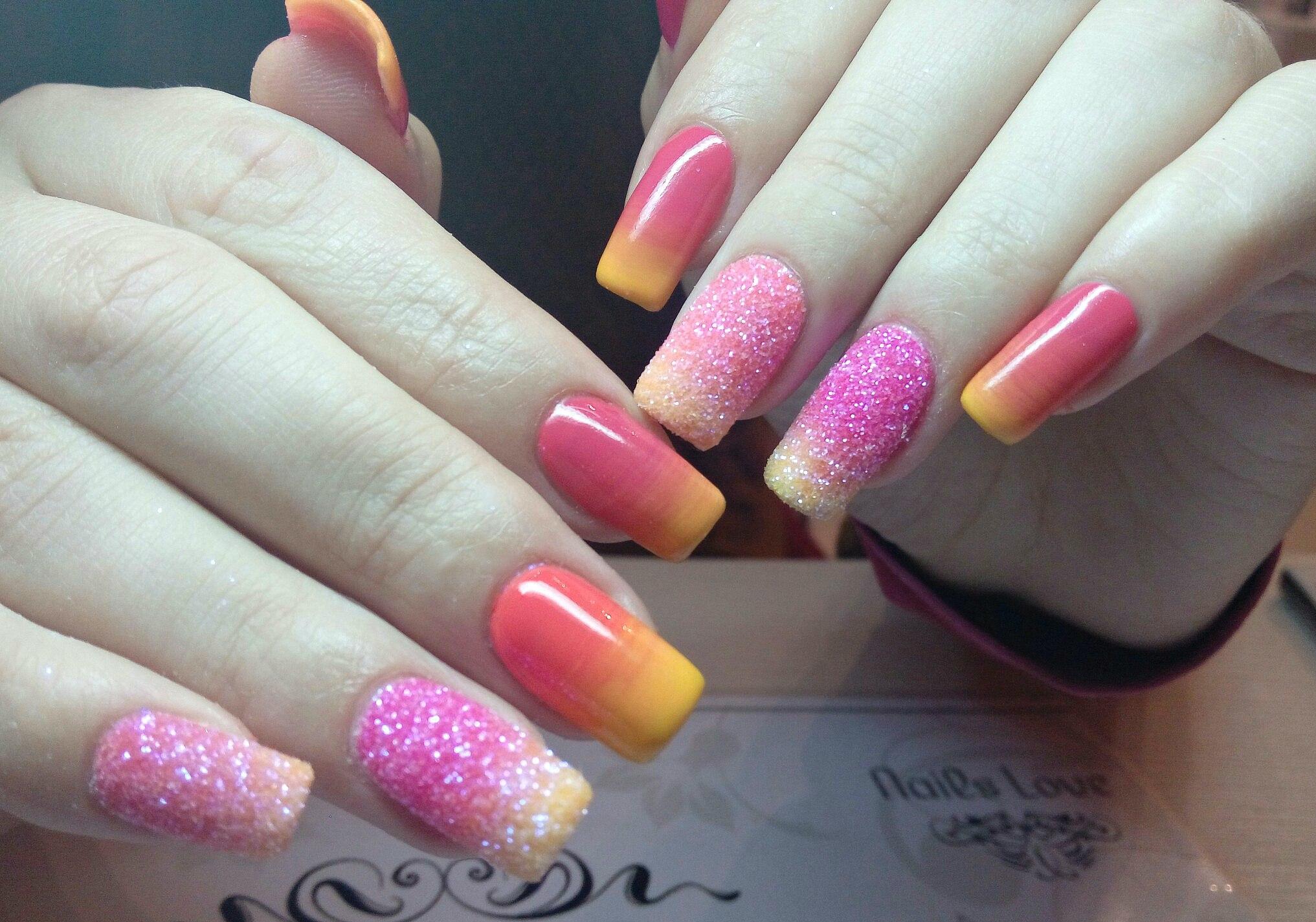 Summer gradient nails - The Best Images | BestArtNails.com