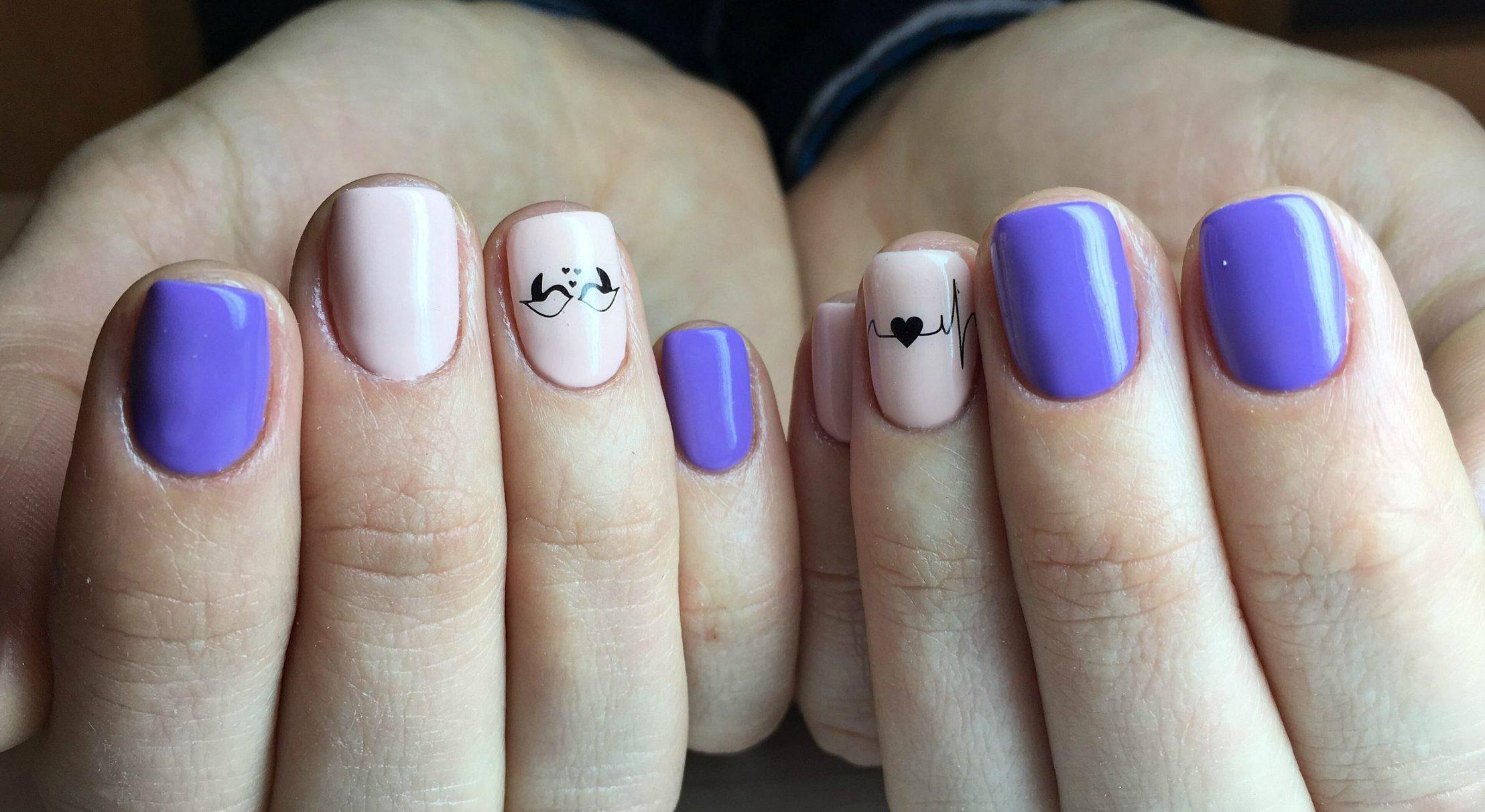 Рисунки на короткие ногти фото дизайн 2018 гель лак