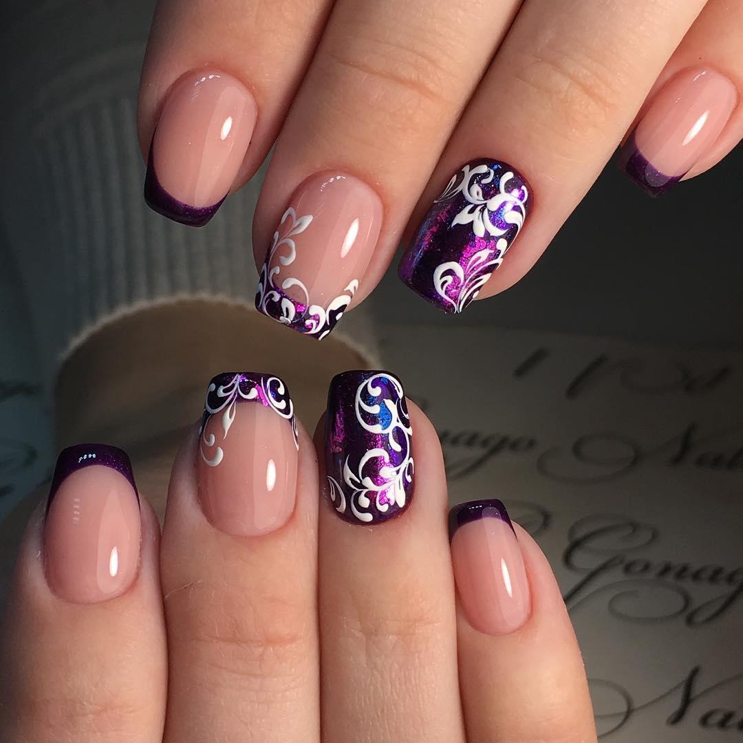 Дизайн ногтей 2017 фото новинки  Nail Art Design  300