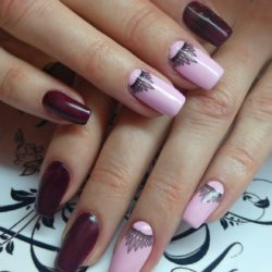Nails trends 2017 photo