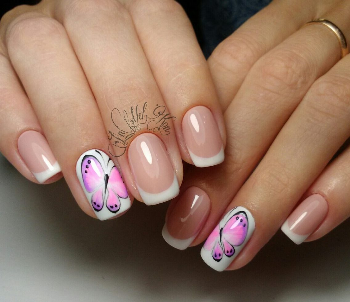 French nail art - The Best Images | BestArtNails.com