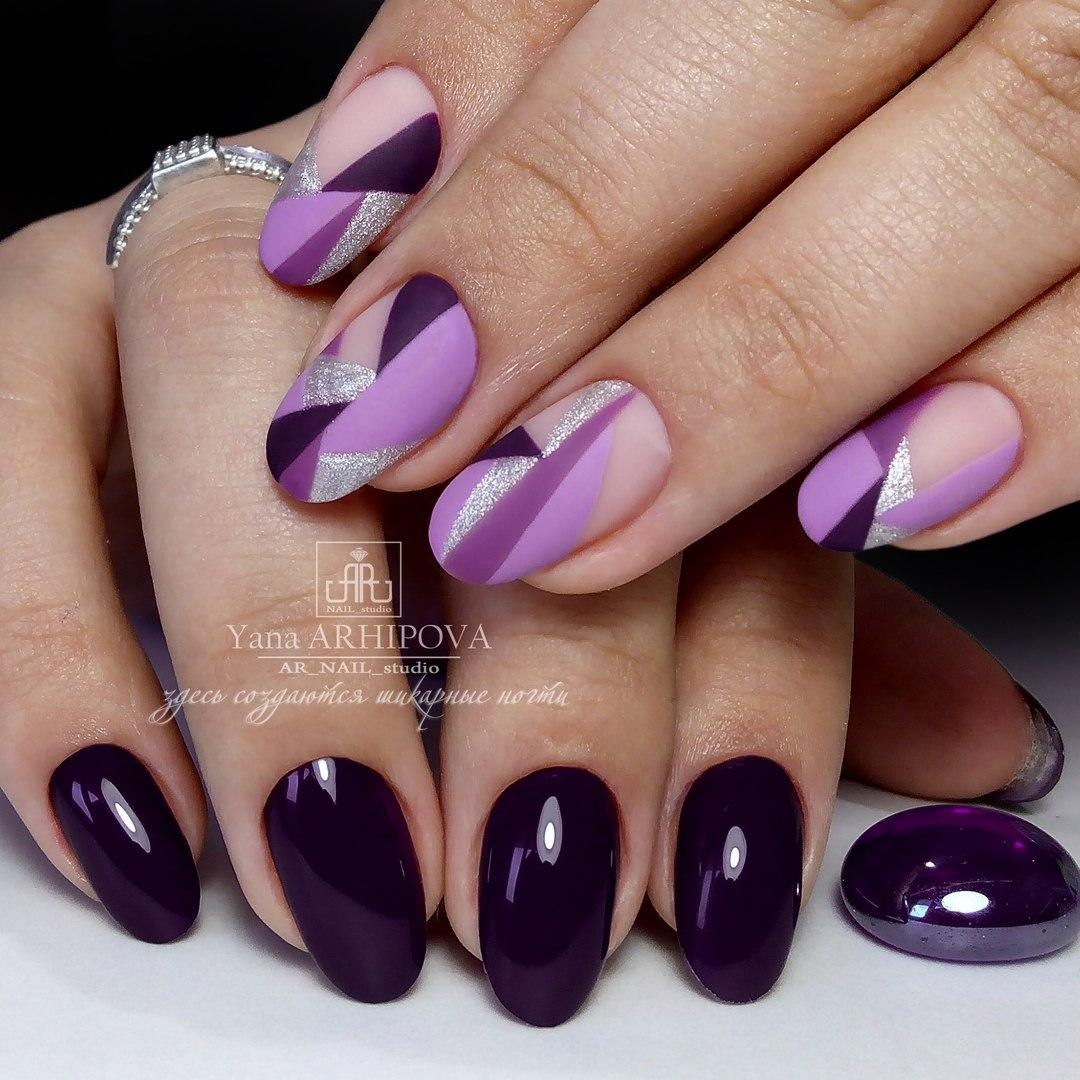 Purple nails ideas - The Best Images | BestArtNails.com