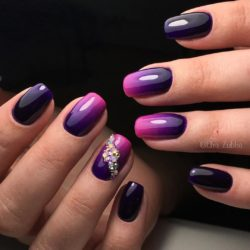 Nails with rhinestones ideas photo