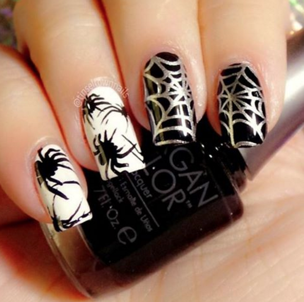 Nail Colors Halloween: Best Nail Art Designs Gallery