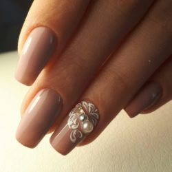 Ring finger nails photo