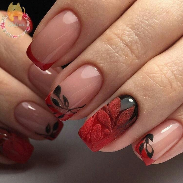 Beautiful evening nails