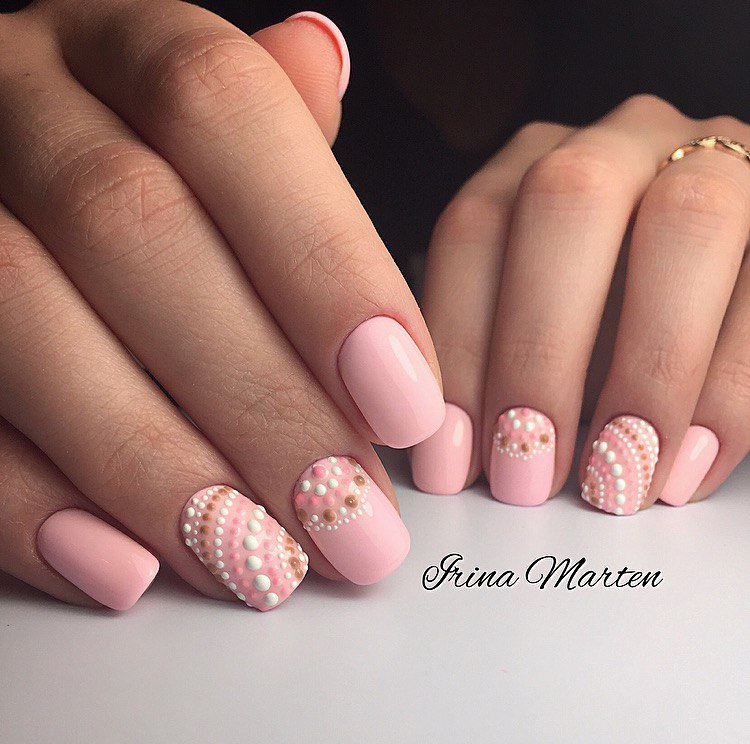 Pink manicure ideas