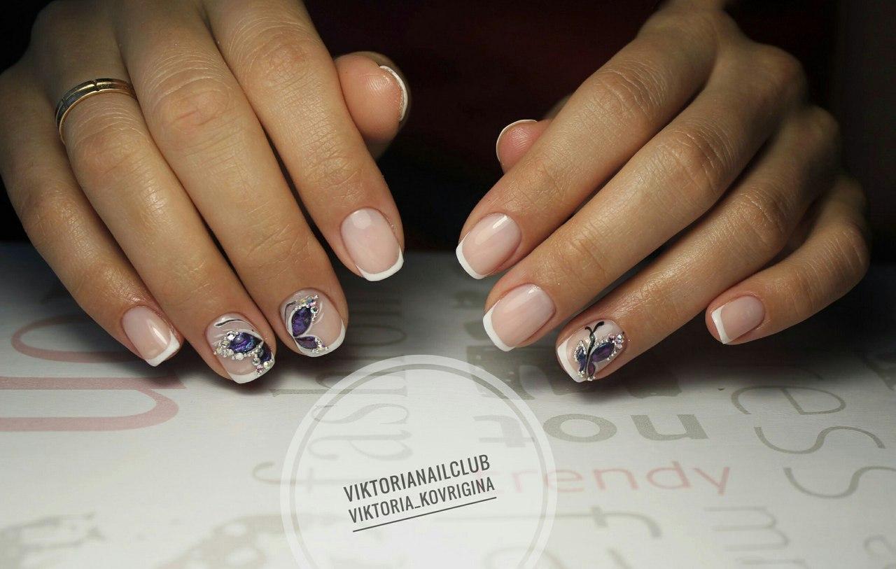 Beautiful delicate nails - The Best Images | BestArtNails.com