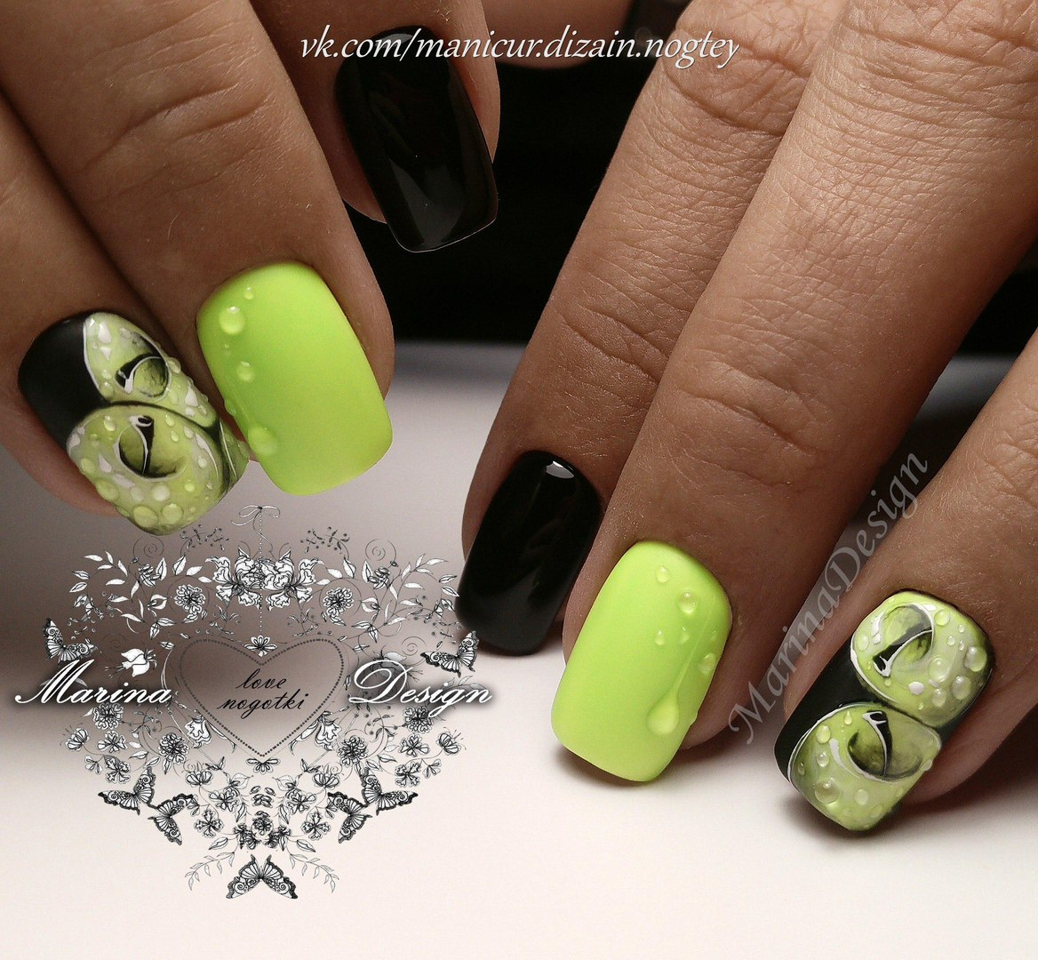 28 green of images nail art
