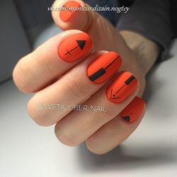 School nails photo