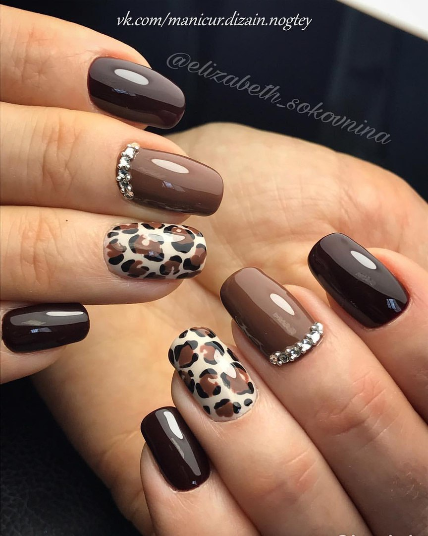 Leopard nail designs photo - Leopard Nail Designs - The Best Images BestArtNails.com
