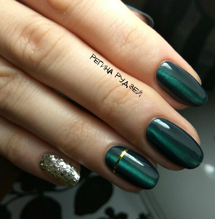 Cat eye nails - The Best Images | BestArtNails.com