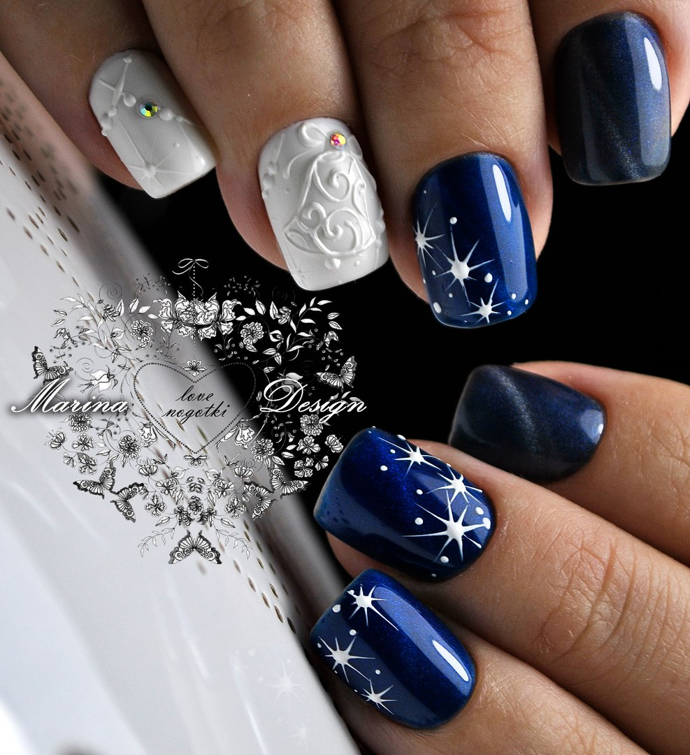 Christmas Nail Art With Gel Polish: Best Nail Art Designs Gallery