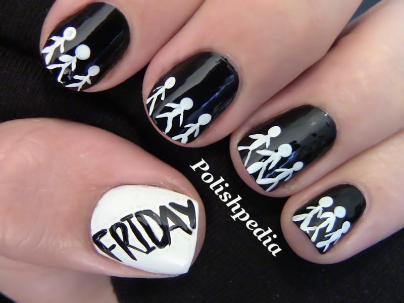 Black nail art - The Best Images | BestArtNails.com
