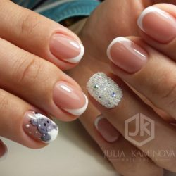 French manicure ideas photo