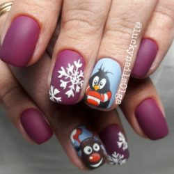 Christmas nails 2018 photo