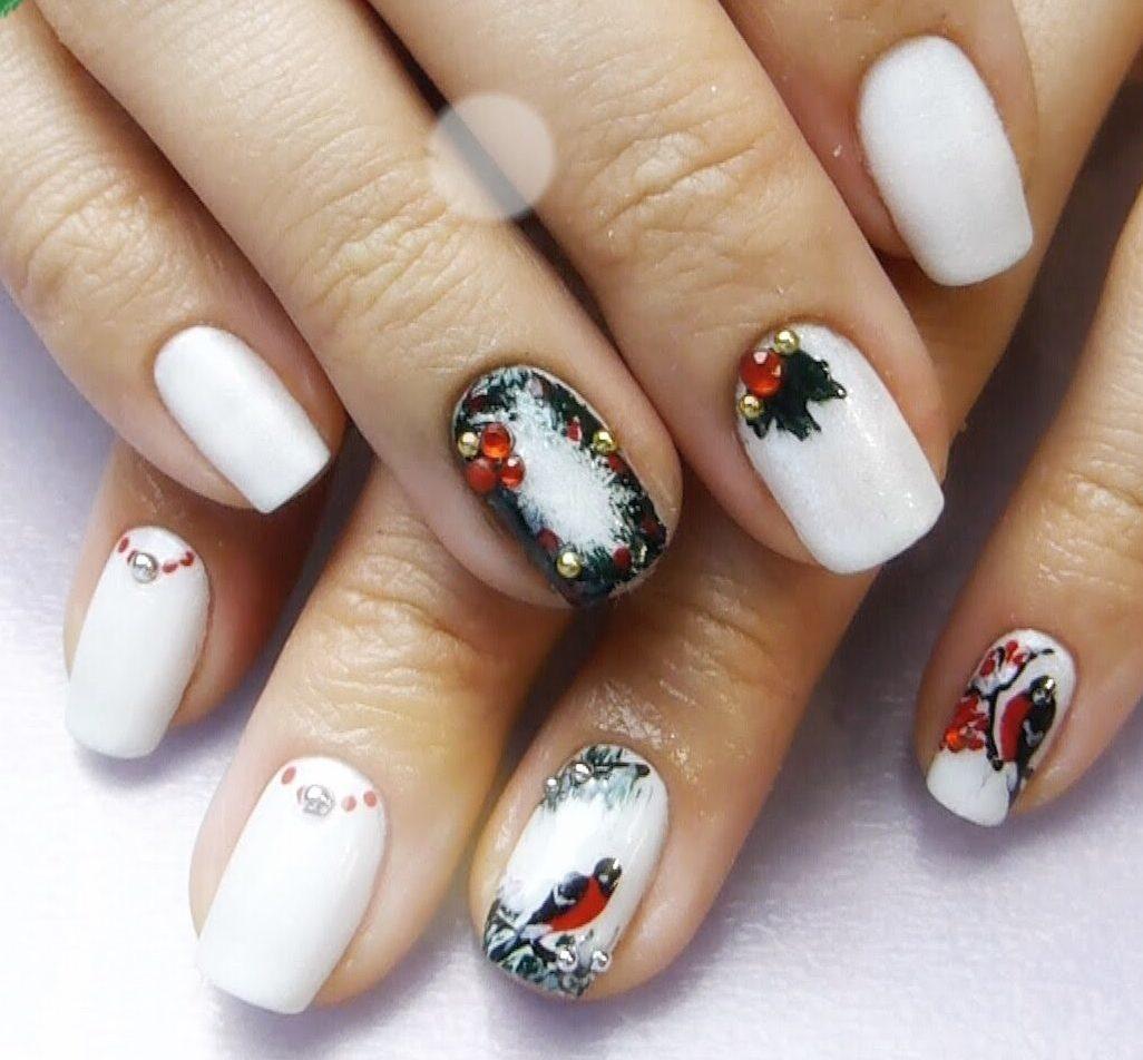 White nail art - The Best Images | BestArtNails.com