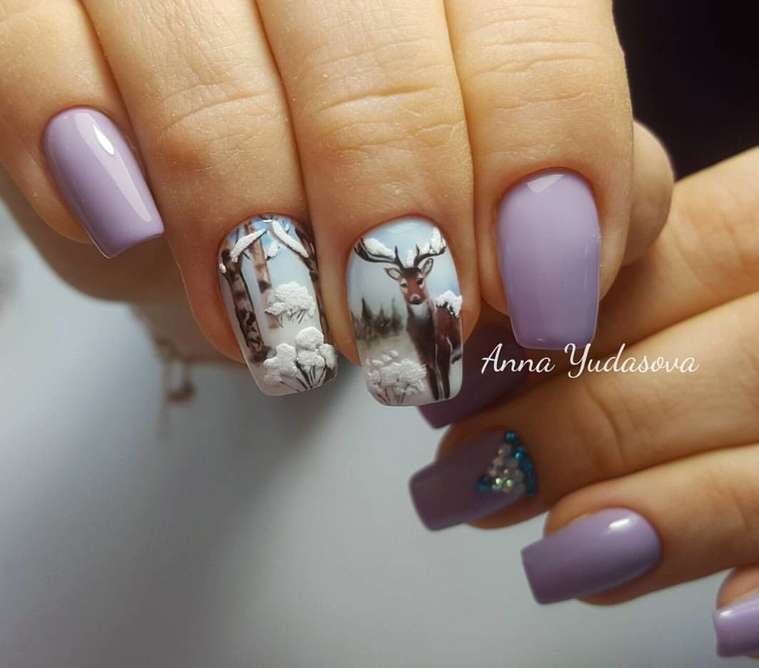 Unique Nail Art Designs 2018: The Best Images, Creative Ideas ...