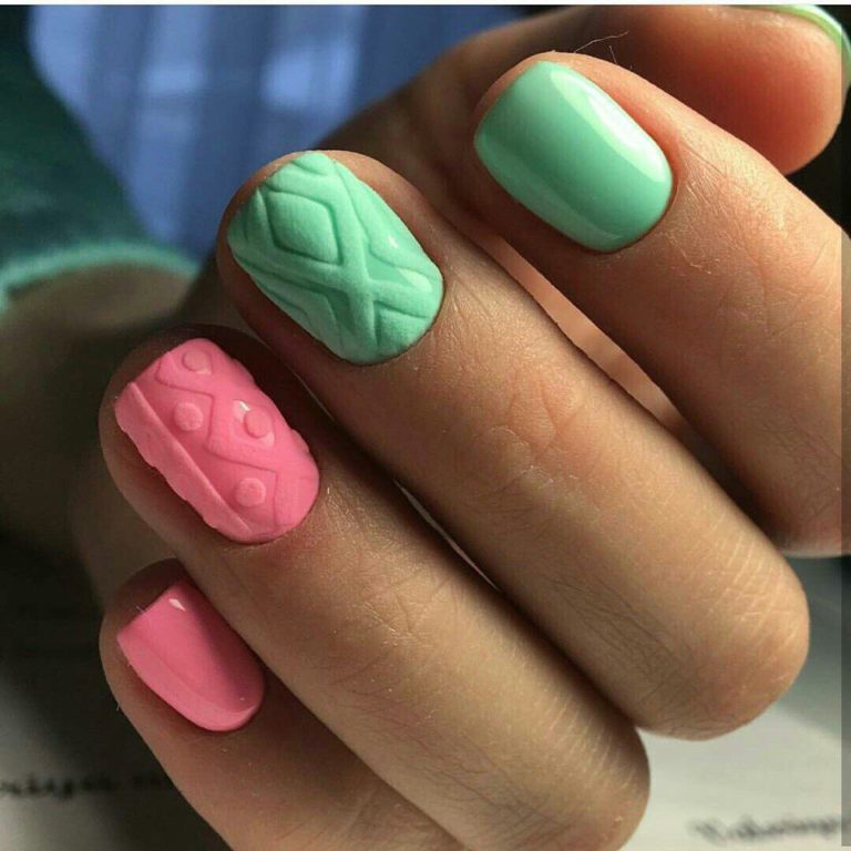 New year nails ideas 2018
