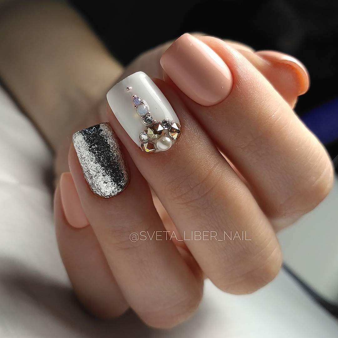 New Year nails 2018 - The Best Images | BestArtNails.com