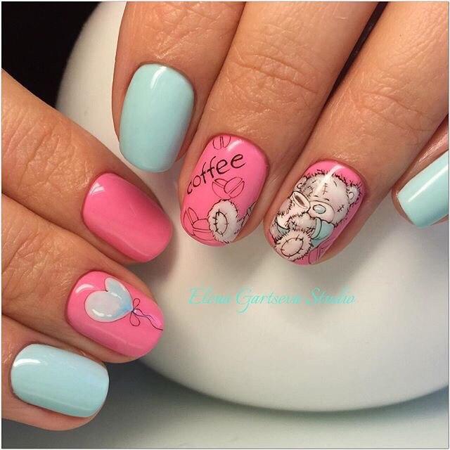 Painted nail designs