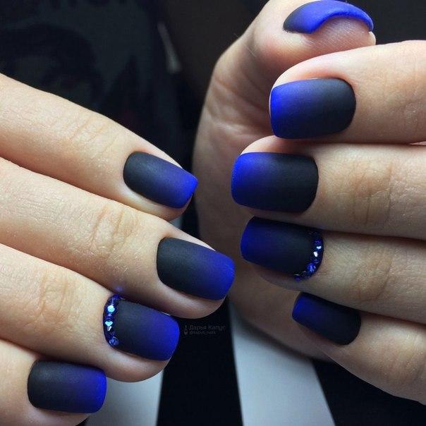 Winter short nails