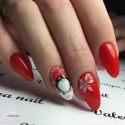 Snow nails photo
