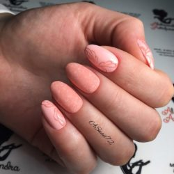 Ideas of gentle nails photo