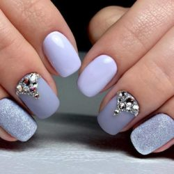 Gray Nails The Best Images Bestartnails