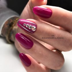 Oval nails photo