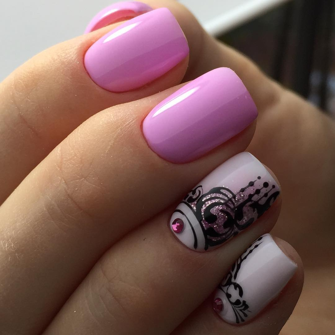 Nail art 3941 best nail art designs gallery bestartnails two color nails prinsesfo Gallery