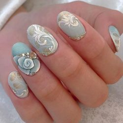 Delicate nails photo