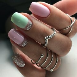 Original moon nails photo