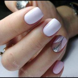 Glitter nails photo