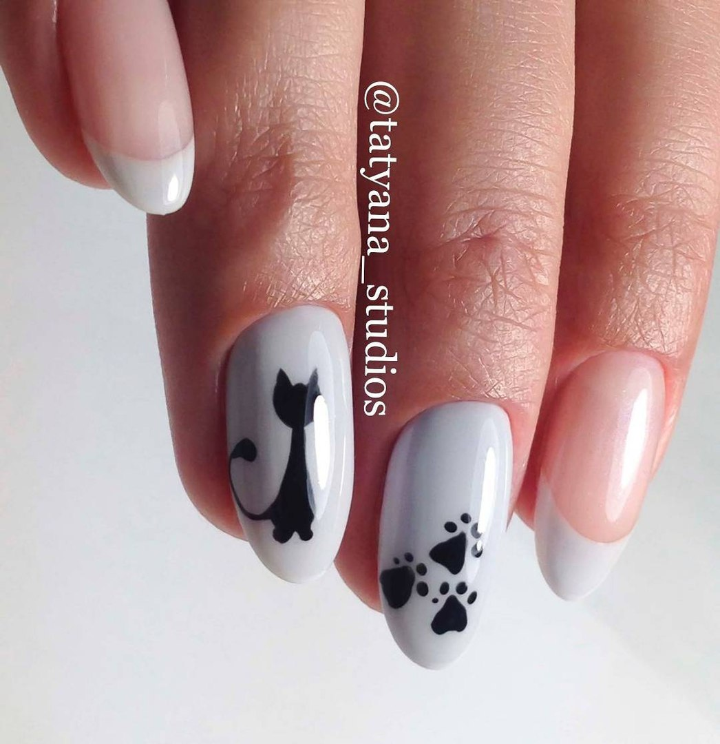 White french nails