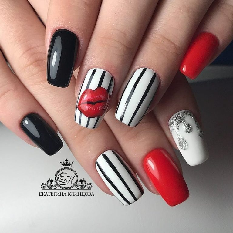 Ideas of colorful nails