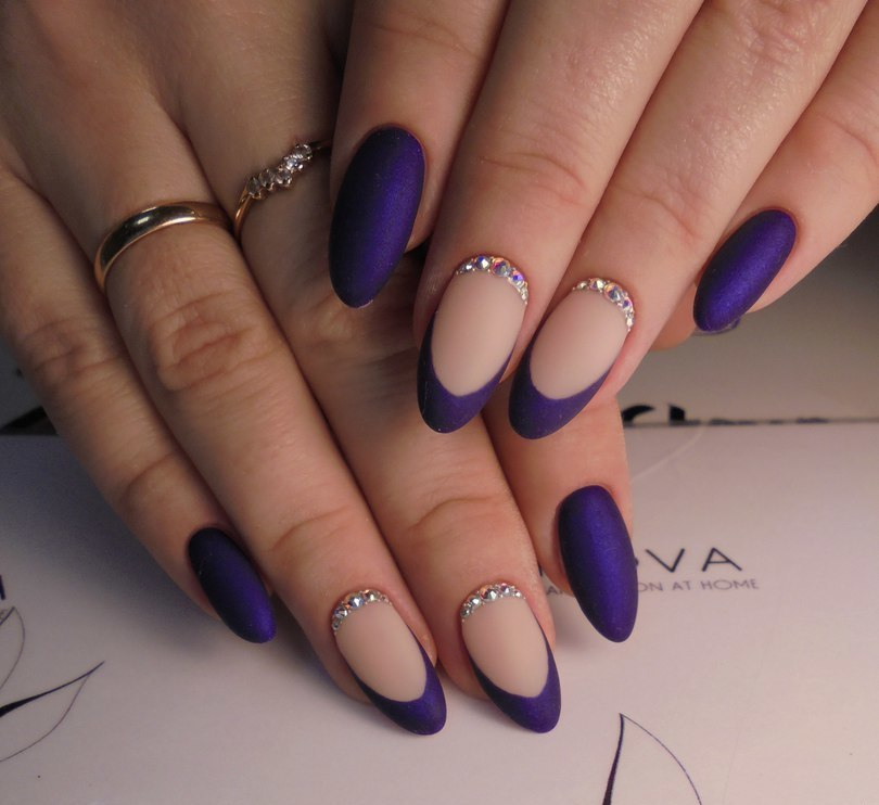 Ideas of violet nails