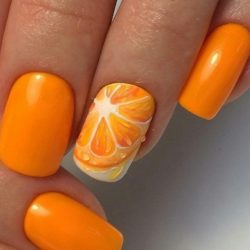 Summer nail art  photo