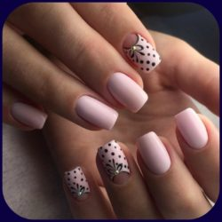 Light Pink Nails Photo