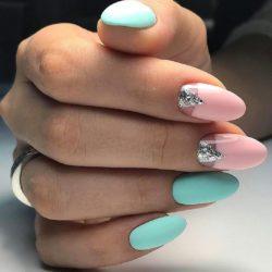 Summer long nails photo