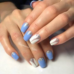 Half moon nails photo