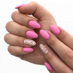 Pattern nails ideas photo